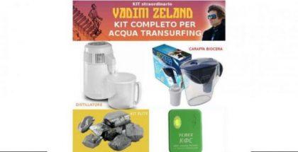 Kit completo per Acqua di Transurfing
