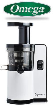 Omega Sana Slowjuicer Prezzo : Estrattore di succo OMEGA SANA 707 orizzontale Omega USA cod. 563